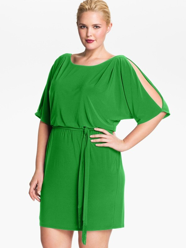 10 Flattering Dresses For Plus Sized Women