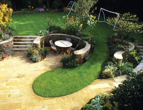 7 backyard decoration ideas for Child friendly garden designs