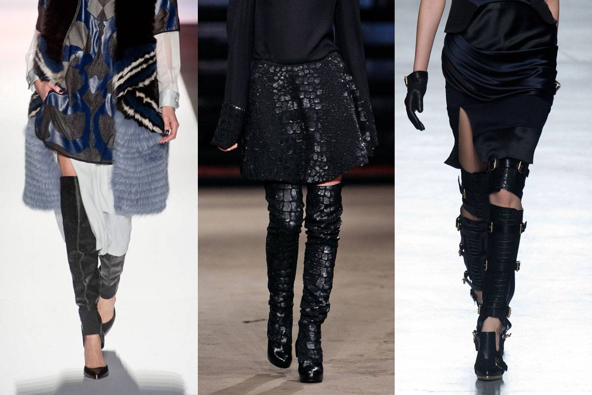 DIY fashion: Thigh high boots
