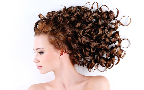 How to make curls with a hair iron