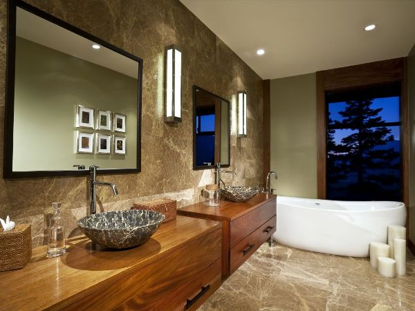 How To Turn Your Bathroom Into A Modern Zen Retrat