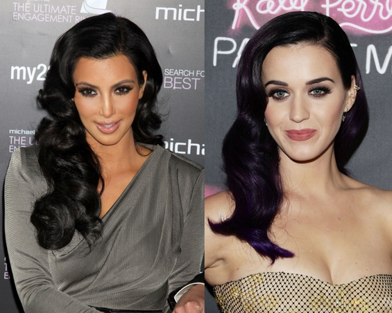 Retro fashion style - kim kardashian - katy perry
