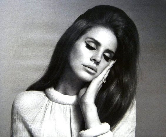 retro fashion style - lana del rey 1