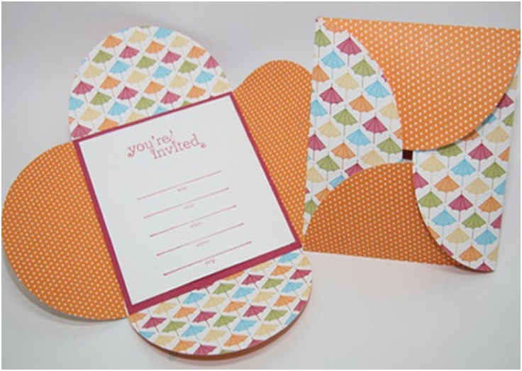 EASY DIY PETAL WEDDING INVITATION CARDS