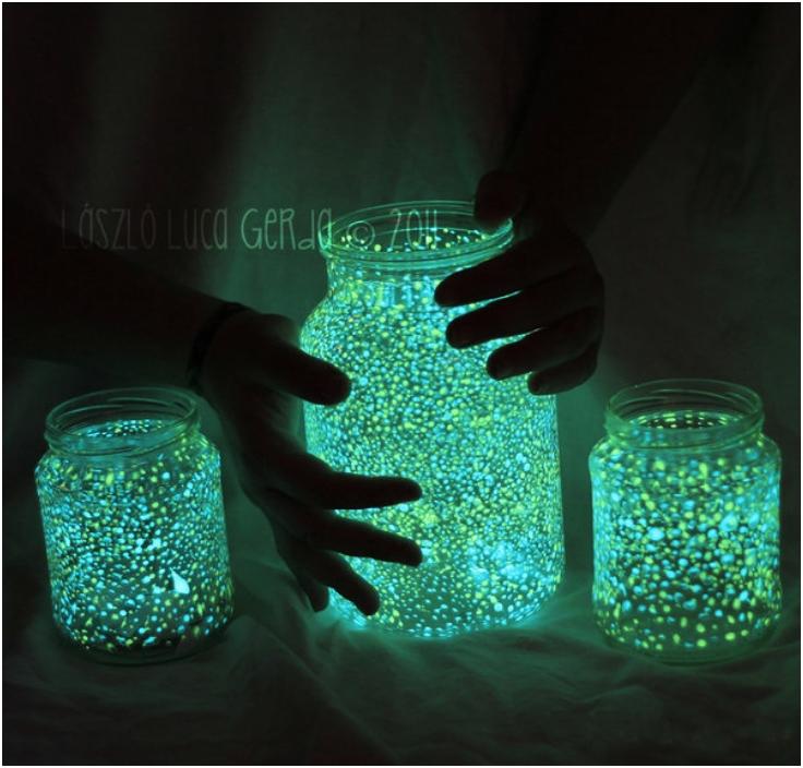 Glowing jar project1