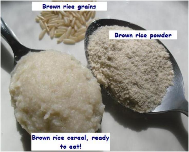 Healthy Baby Cereal Recipe