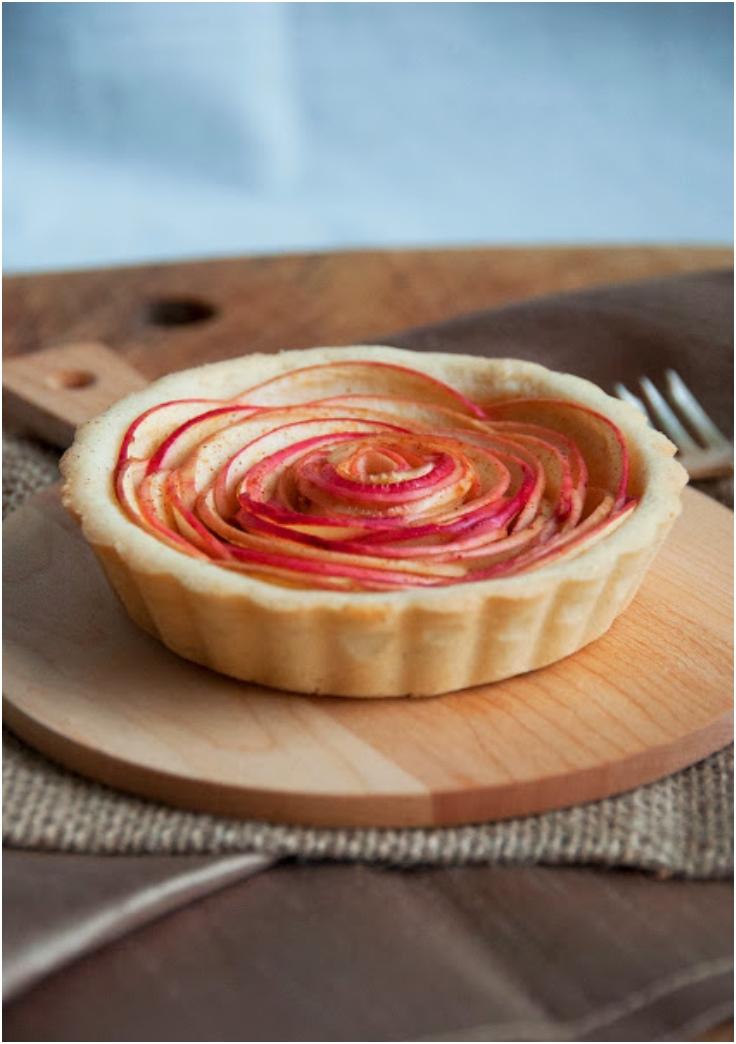 Rose Apple Tart