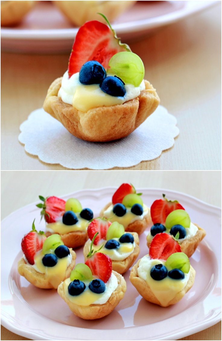 healthy fruit tart recipe easy high protein fruits