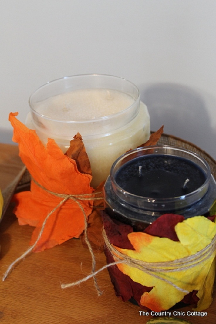 leaf-candle-wrap