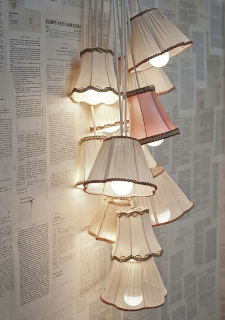 7 diy ceiling lamps - Diy lamp shade ...
