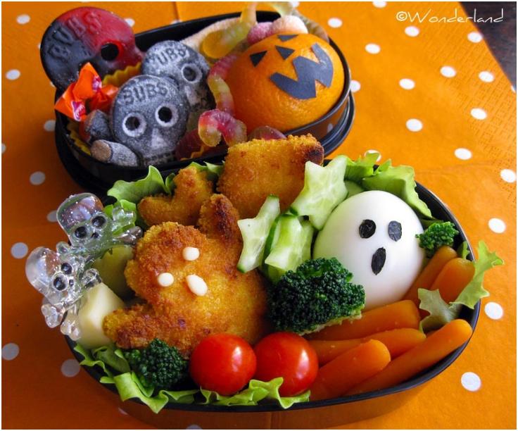 Bento 2 Halloween bento