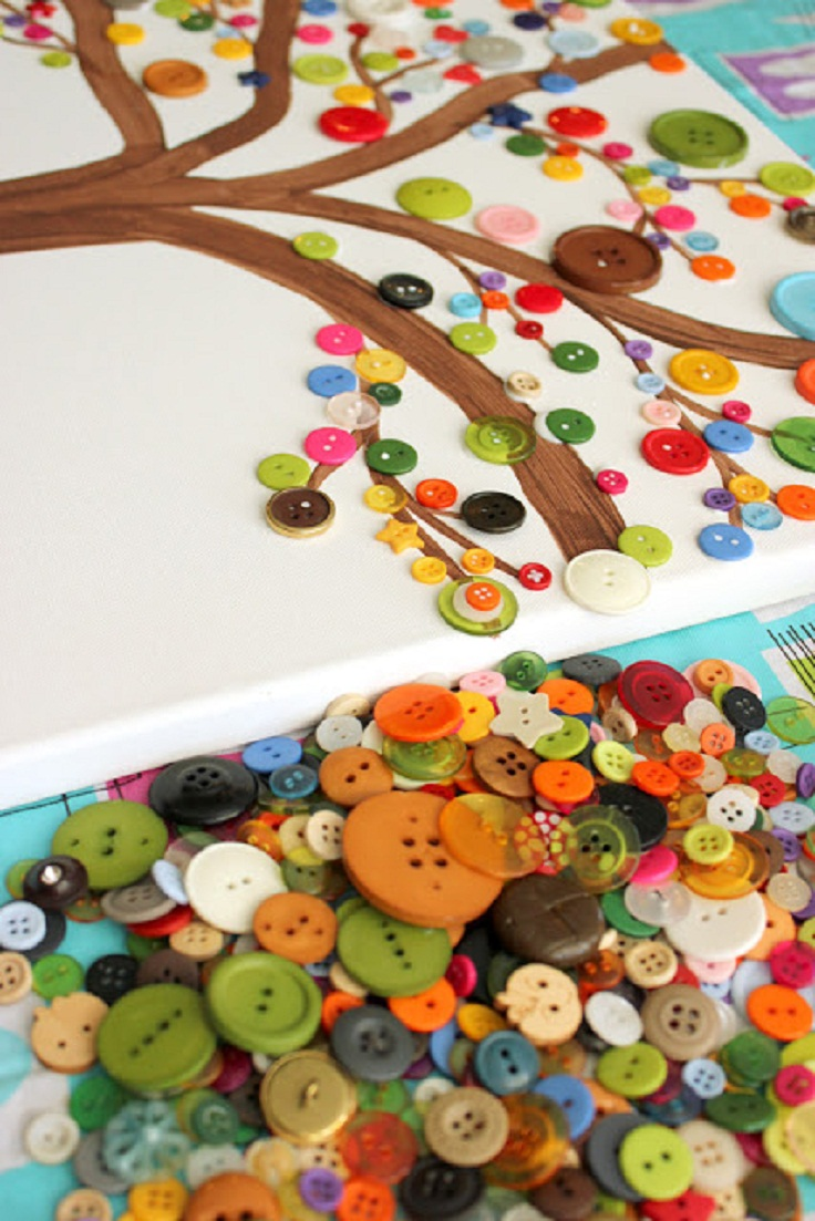 7 Interesting Diy Button Projects