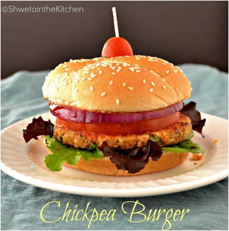 Chickpea Burger - Veg Burger