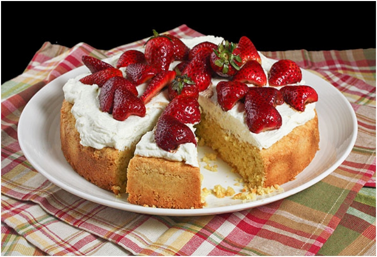 Cornmeal-Almond Cake (Polenta Cake)