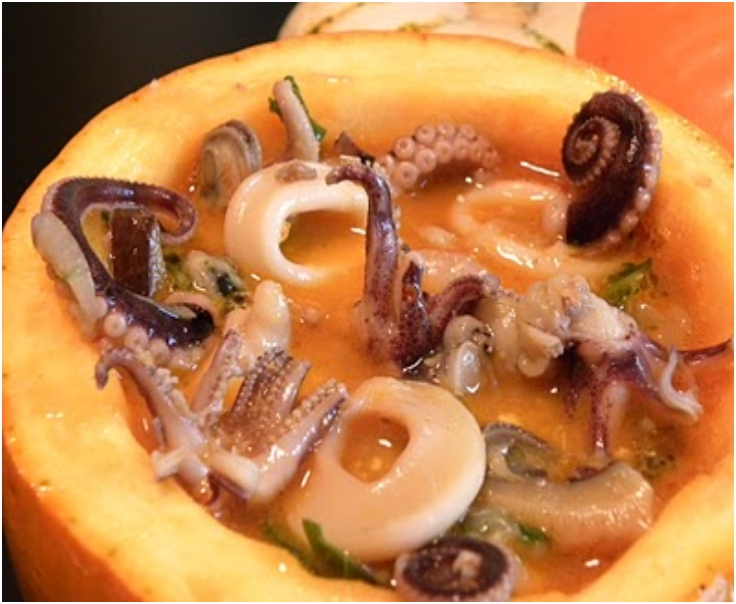 Creepy Creatures of the Sea Soup