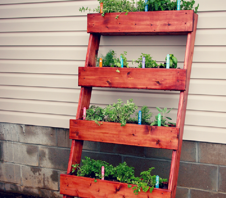 diy herb garden with the home depot_thumb - Diy Herb Garden Ideas