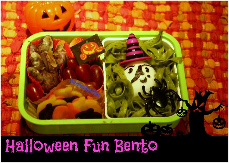 Halloween Fun Bento