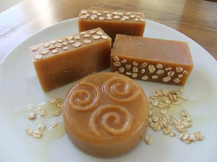 Honey-Oat-Beeswax-Soap
