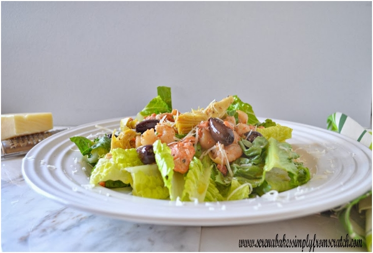 Hot Seafood Salad With Sherry Vinaigrette