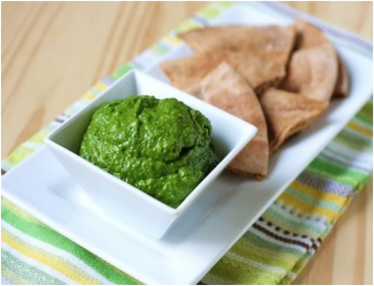 Indian Spinach Dip