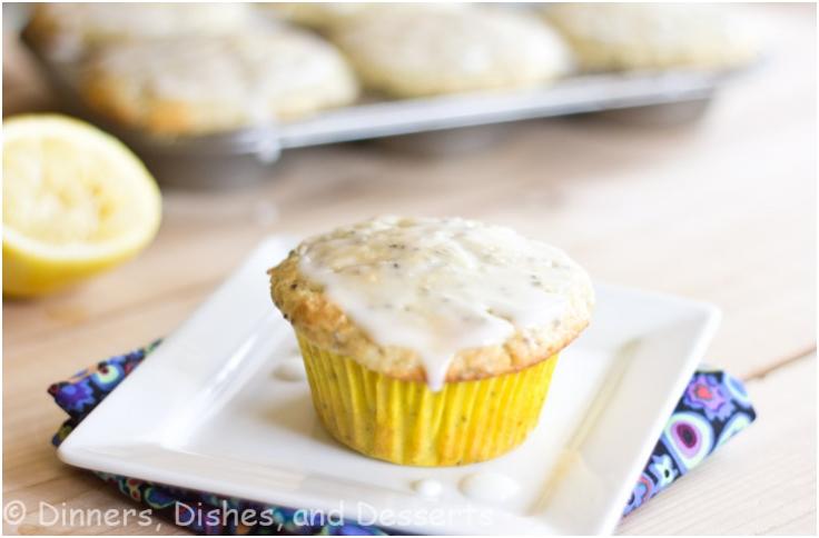 Lemon Chia Seed Muffins