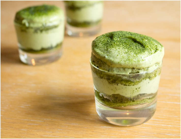 MATCHA (GREEN TEA) TIRAMISU