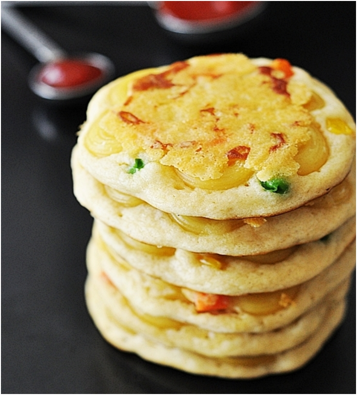 Mac nCheese Pancakes