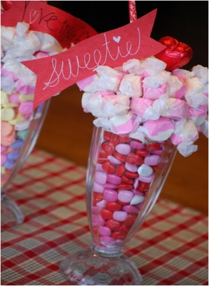Make a Valentine Centerpiece