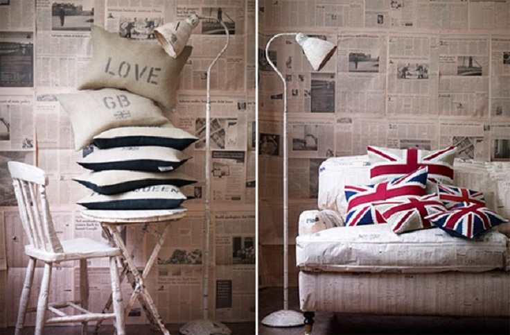 7 cool wallpapers for your home for Wallpaper home decor uk