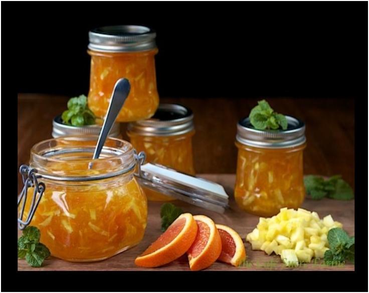 Orange-Pineapple Marmalade