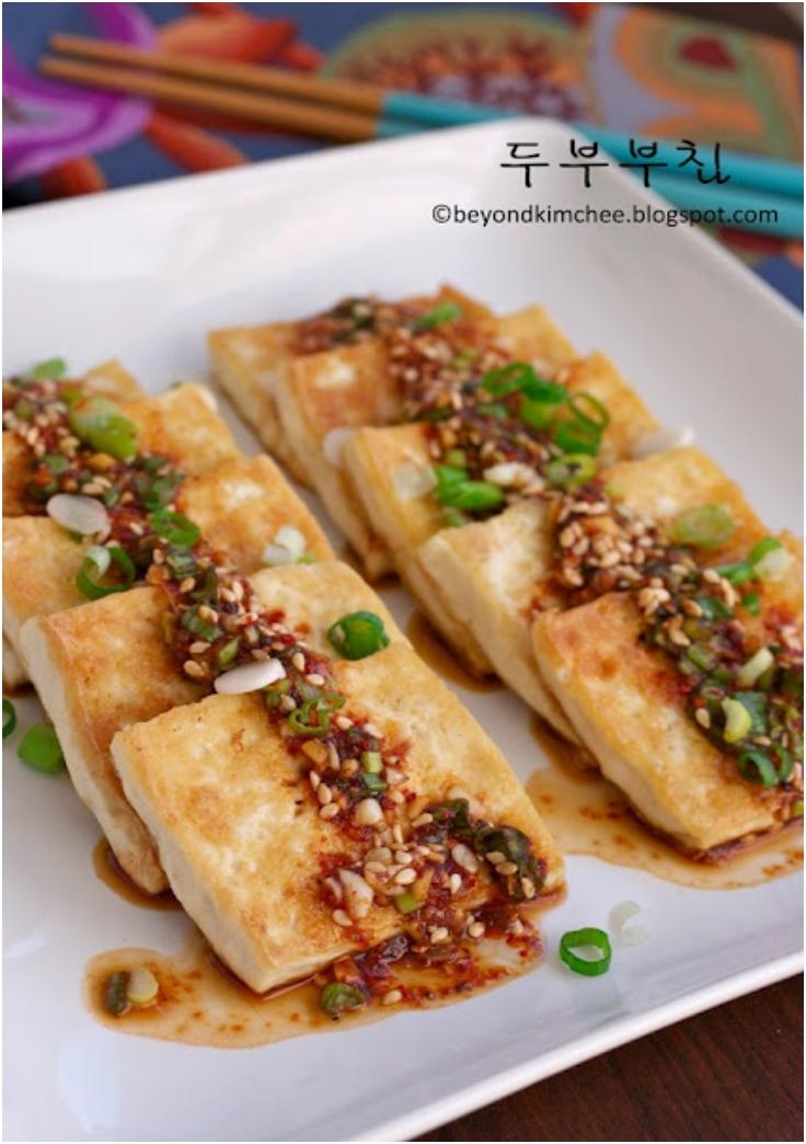 Pan Fried Tofu, Korean tofu 101