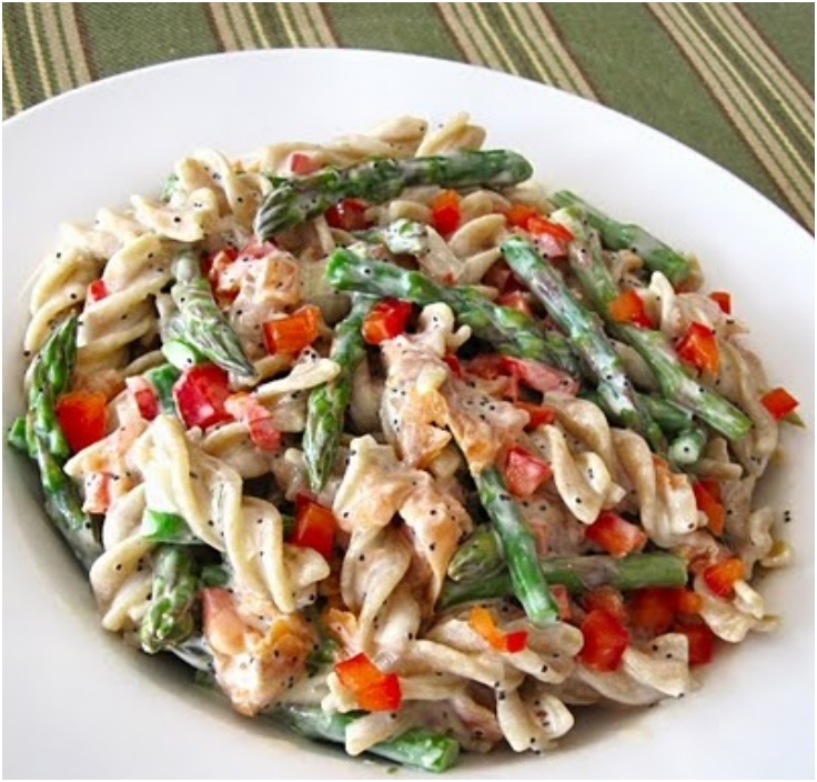Easy pasta salad recipes with asparagus