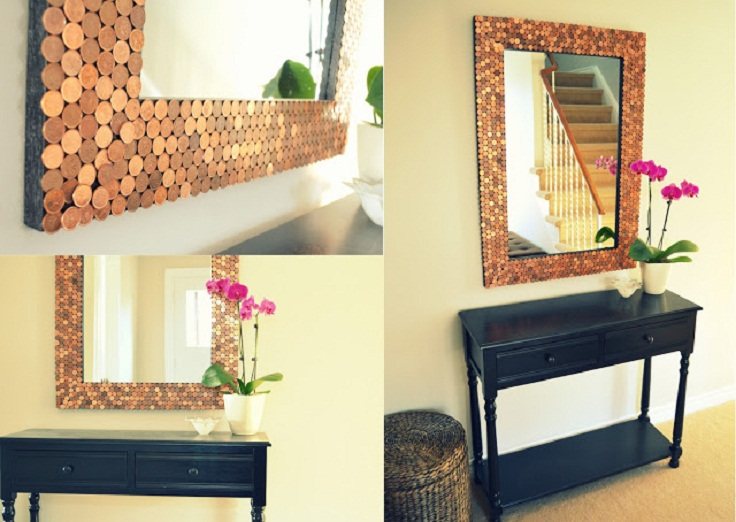 7 Diy Creative And Unique Mirror Frames Ideas