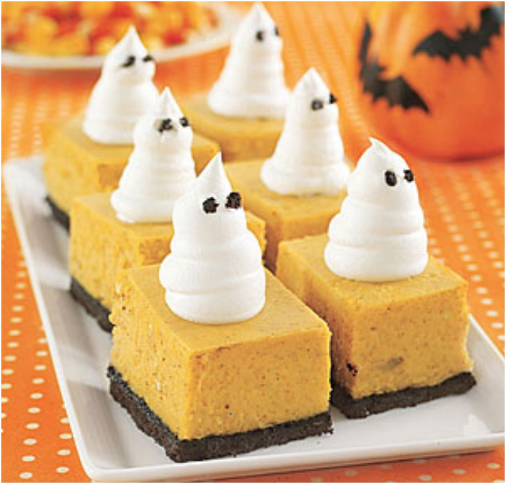 Halloween Dessert Decorations: 7 Halloween Mini Desserts With Pumpkin