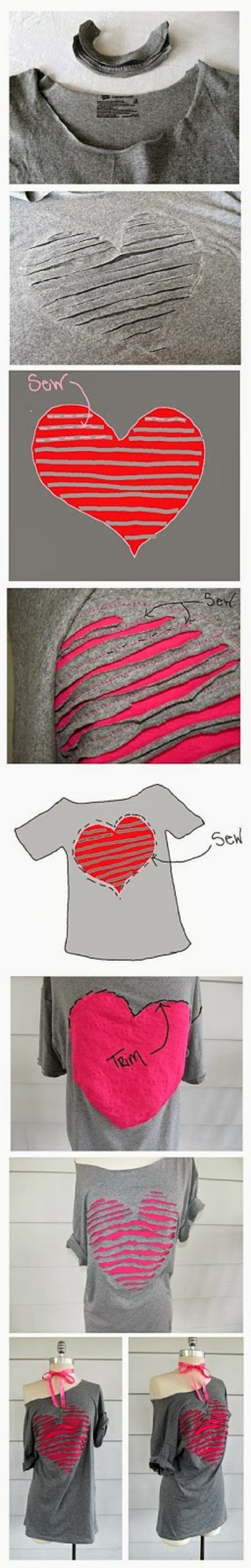 Recycling - Old t-shirt remake For You