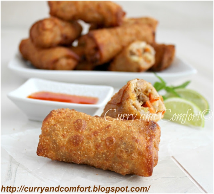 Savory Asian Egg Rolls