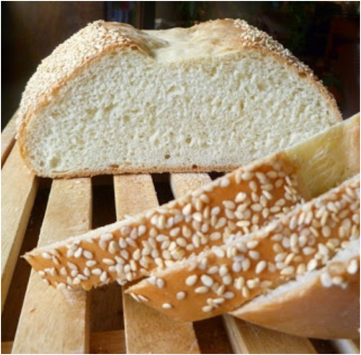 Sesame White Bread - the long and short versions