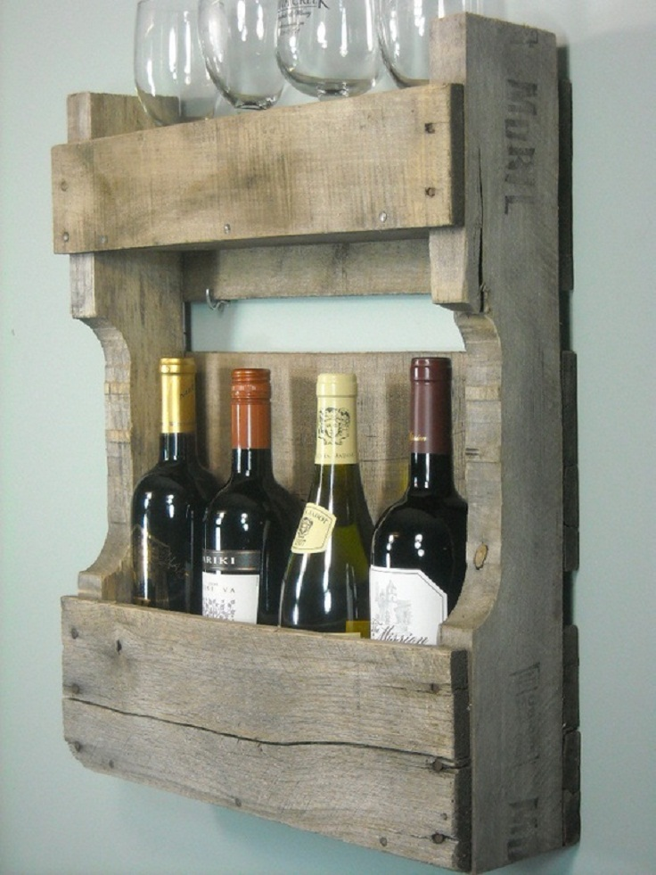 7 diy creative wine rack ideas
