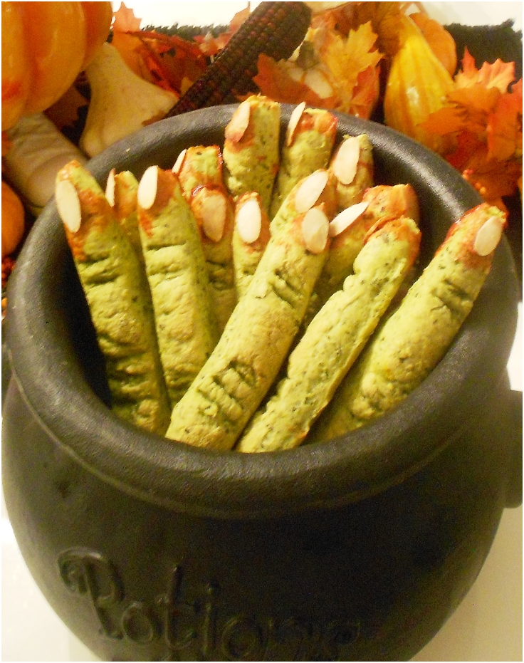 Spinach Witch's Fingers finished
