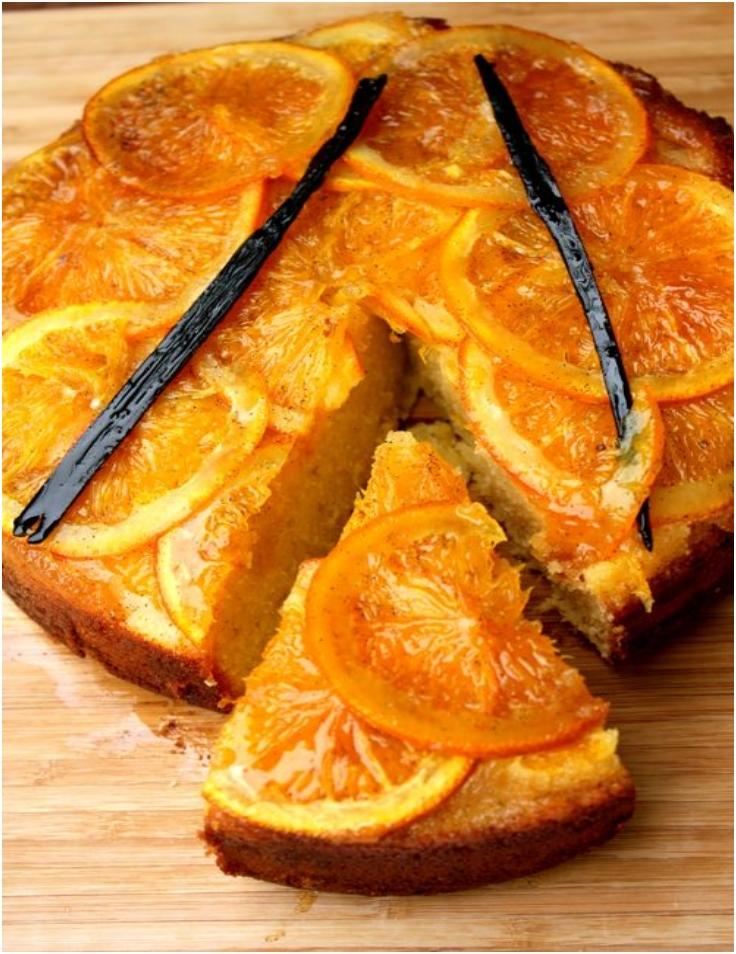 Sticky-Orange-Upside-down-Vanilla-Cake