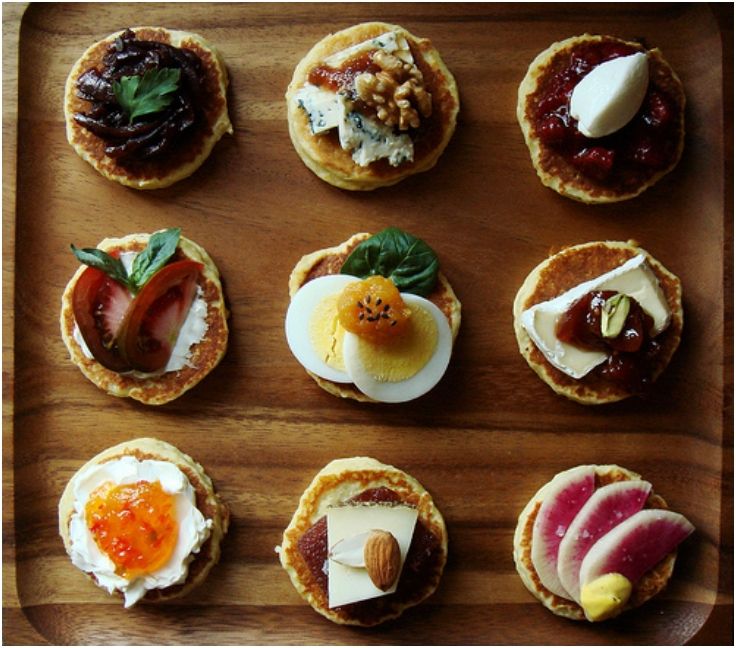 7 canape recipes for a fancy party for Party canape ideas