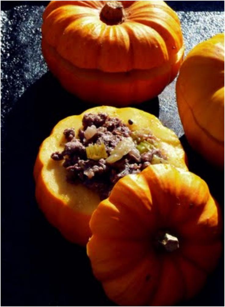 Tiny Stuffed Pumpkins