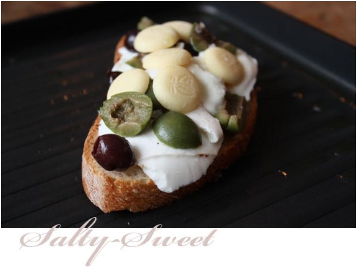 White Chocolate Olive Panini