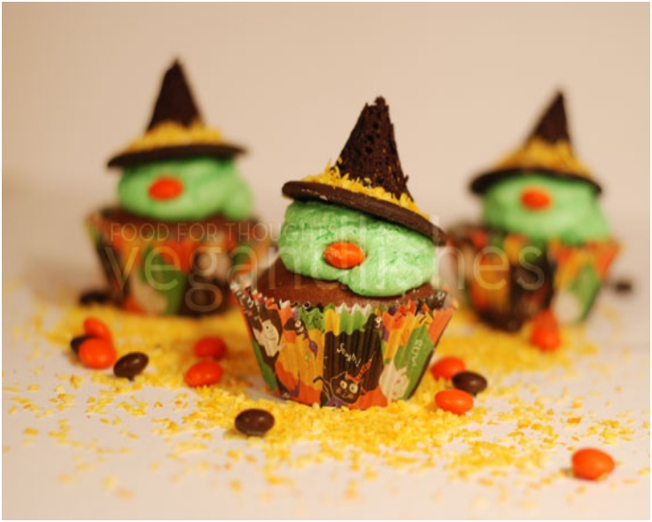 Wicked Halloween Cupcakes
