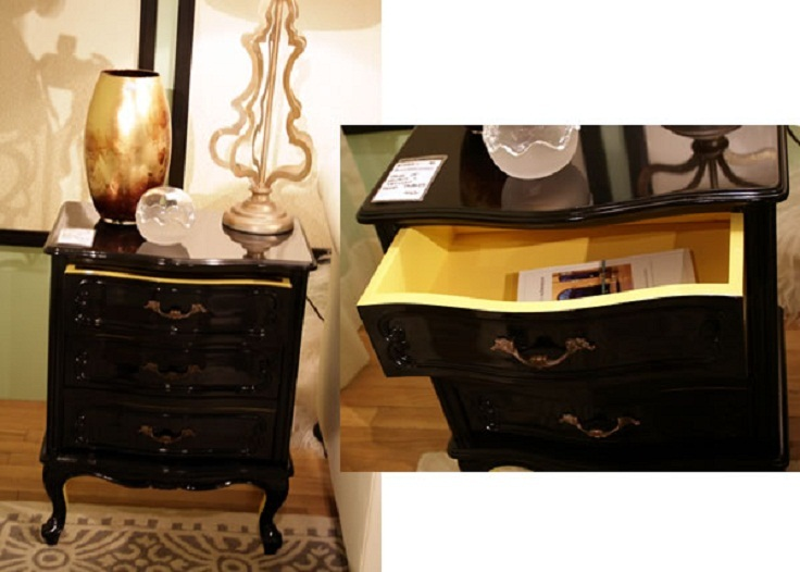 black-and-yellow-painted-furniture