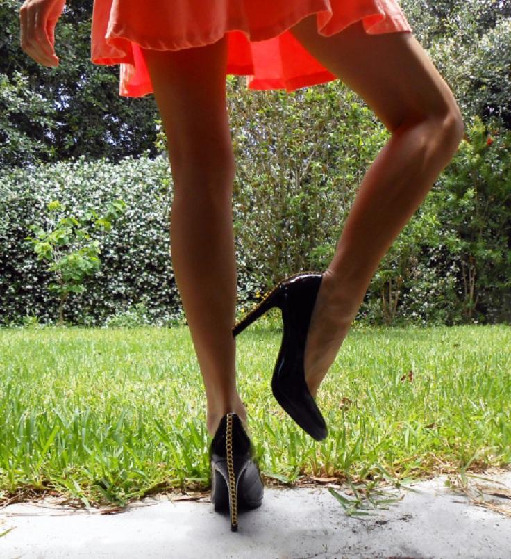 chain-heels