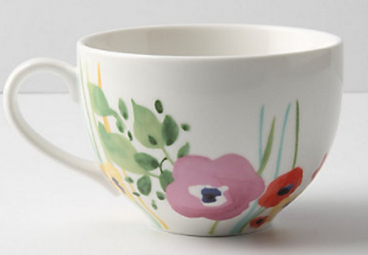 7 diy ceramics mugs for Mug painting designs