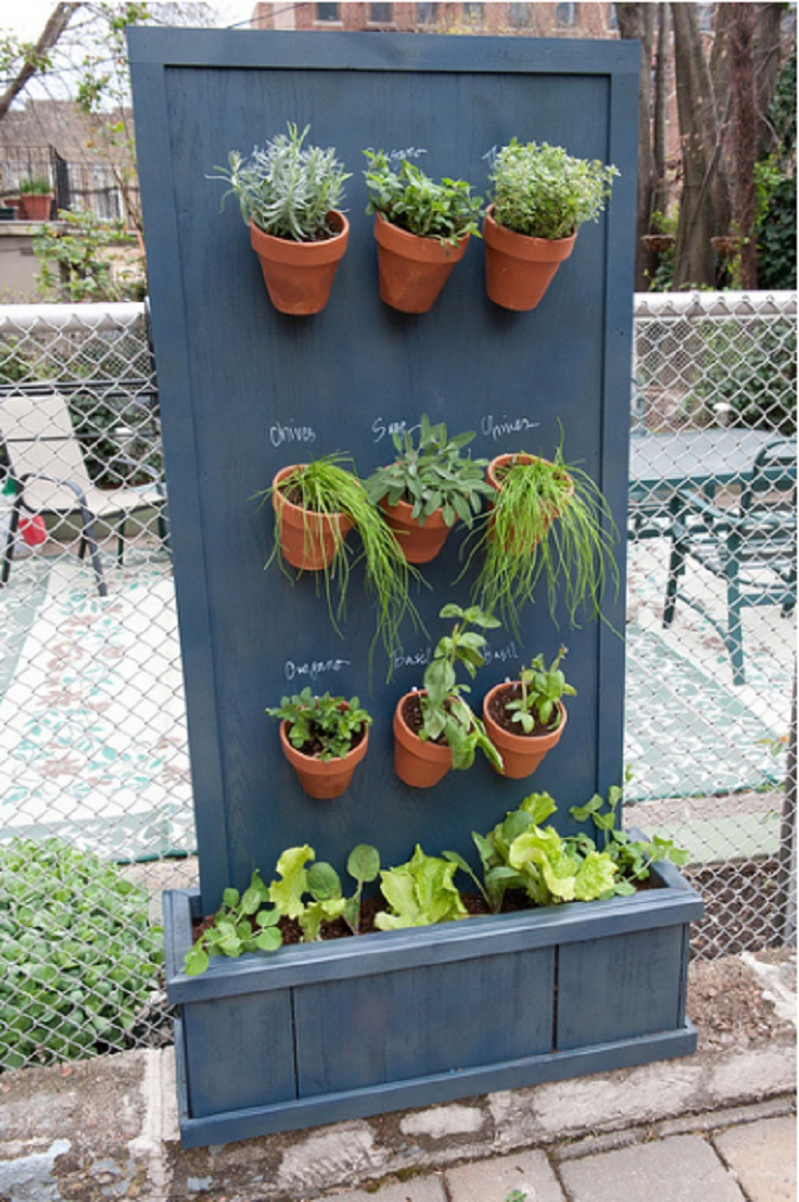 Charmant Diy Herb Garden Vertical Herb Garden From Brooklyn