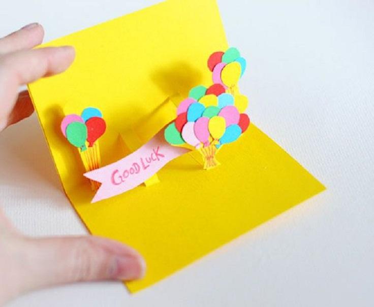 Объемная открытка своими руками на день рождения маме