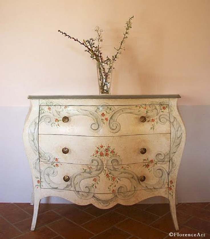 diy painted furniture ideas. diy florentine furniture painting diy painted ideas s